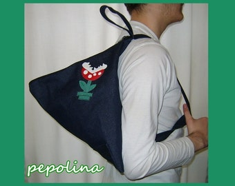 Super Mario Piranha Plant 3D Bag