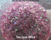 Raw Glitter Mix for Nails: The Good Witch (glow in the dark) Wizard of Oz Collection