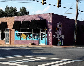 Digital photograph of a shop in the NoDa district of Charlotte, NC