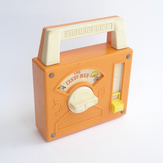 Fisher Price Radio Toy The Candy Man