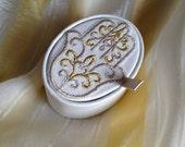 Embroidered Gift Box Hamsa Khmissa