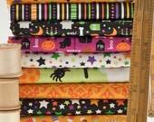 Riley Blake Designs Trick Or Treat - Doodlebug Designs Halloween - Fat Quarter Fabric Bundle - UK Seller