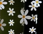 Daisy Flower Mobile - Paper Daisy Mobile for Nursery, Baby or Kids Decor - Shower Gift - Decoration