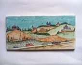 israeli view - hand drawing