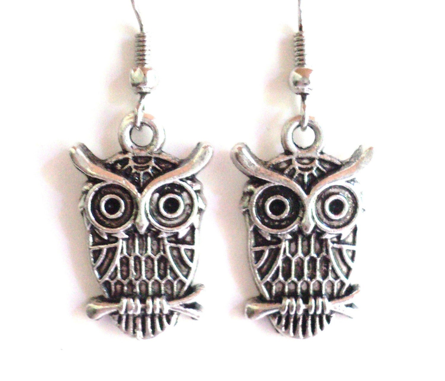 Owl Earrings Unique Gift For Her Christmas Stocking Stuffer