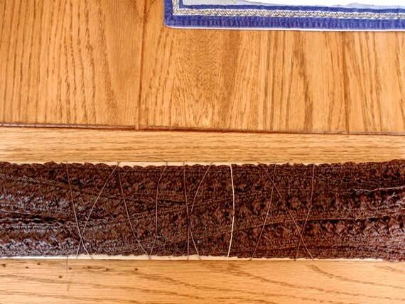 Vintage 1940 Millinery Straw Braid
