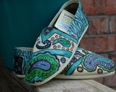 Customize Painted Toms Shoes
