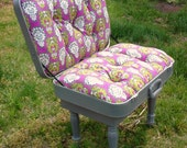 Heather Grey Suitcase Chair