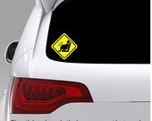 Pregnant On Board Safety Car Window Bumper Removable Vinyl Sticker Sign Decal Baby Shower (A006)
