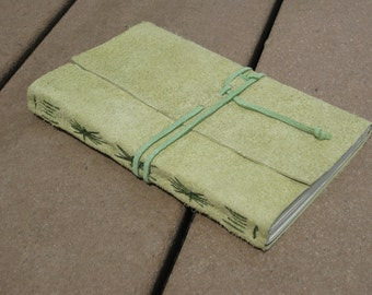 Spring Green Leather Journal
