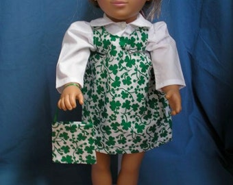 "St. Patrick's Day Jumper for 18"" American Girl Dolls"