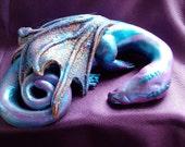 Sleeping Dragon polymer clay