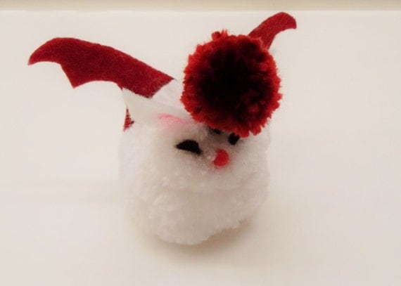 Handmade Final Fantasy Moogle Mini Plushie