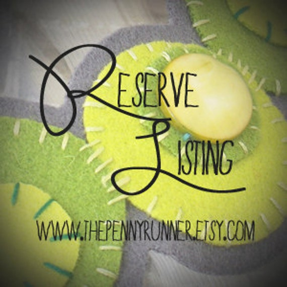 Reserve Listing for Mrs. Jill Albers