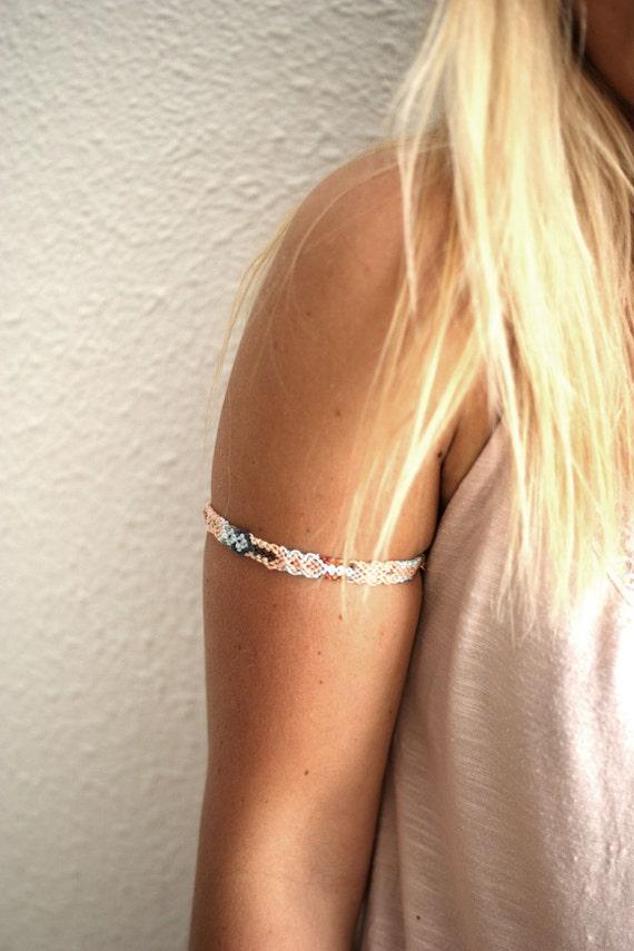 Upper Arm Friendship Bracelet.