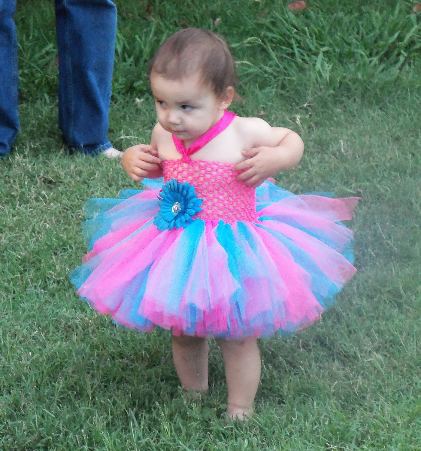 Turquoise tutu dress | Etsy
