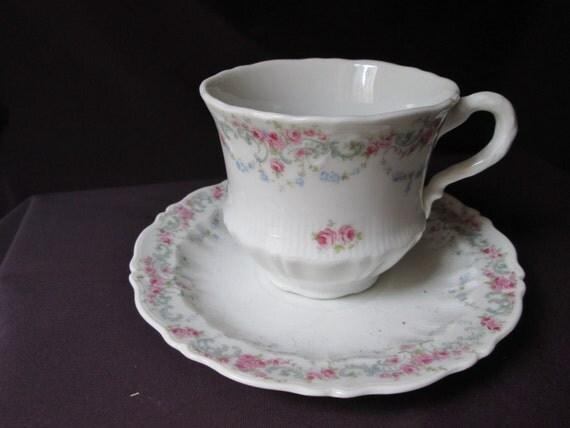 German Wedding Gifts: Vintage German Coffee Or Tea Cup And By TeaCupsFromSharon