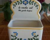 """Vintage le cache ail """"the garlic keeper"""" French 1983 - La Lecon de Francais"""