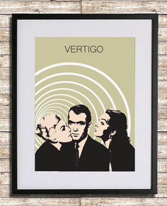 Vertigo Movie Poster Print