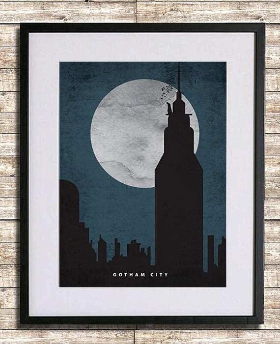 Gotham City Poster Print