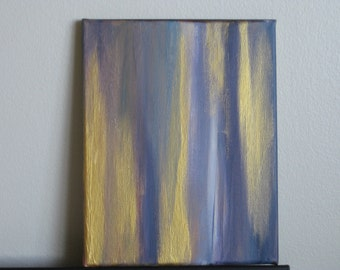 Original Abstract Painting - 8x10 Acrylic on Canvas