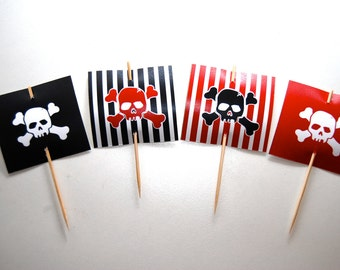 Pirate Cupcake Topper ONLY