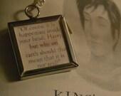 Dumbledore Quote Necklace