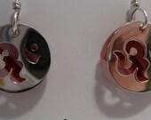 Yoga Class, Swarovski Crystal & Sterling Silver Dangle Earrings