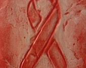 Pink Breast Cancer Awareness Ribbon magnet