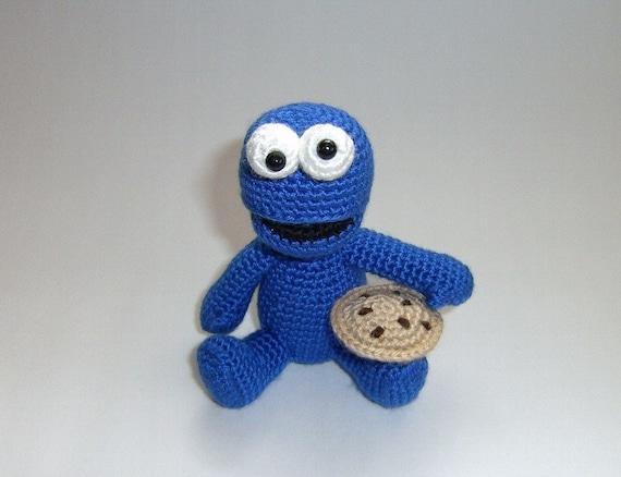 Amigurumi Cookie Monster : PDF - Cookie Monster Amigurumi Pattern from naryatoys on ...