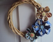 Mother's Day Sale 10% off- Spring Time Flower Wreath