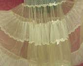 Lacy Wedding, sp Occasion Slip, Lace & Tulle size M L