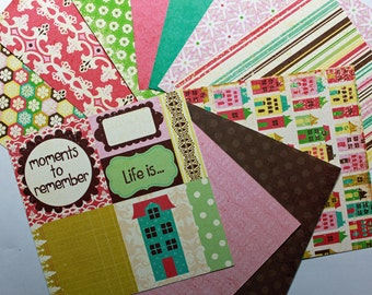 Life is Good collection 6x6 paper pack by Echo Park 22 sheets