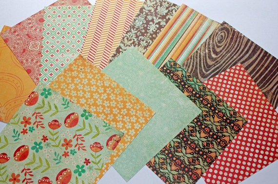 Mosaic Memories collection paper pack 6x6 by Recollections 24 sheets