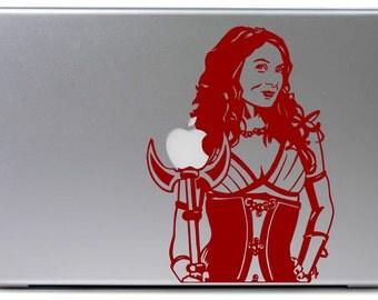 The Guild Codex Felicia Day MacBook Decal
