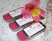Lip Balm - Sheer Rose Tinted Balm, Posh Pucker Lips by Honey Vine Soaps, Lemongrass Balm, Vegan Balm, Natural Shea Butter Lip Balm