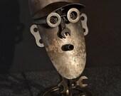 Gearhead - Found Object Sculpture