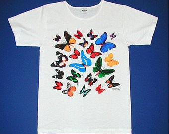 Ladies Butterfly Tee Shirt  - Reg. 26.00 - Limited Time 17.50 and Free Shipping.