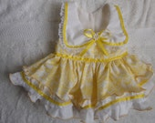Pretty Little Paws - Light Yellow Dog Dress