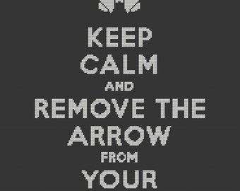 Keep Calm and Remove the Arrow from your Knee.