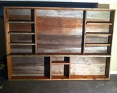 Reclaimed Barn-plank/Barnboard Entertainment Unit