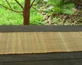 Woolen Table Runner - Sahara blend