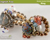 Ring Beading Pattern - English Tea