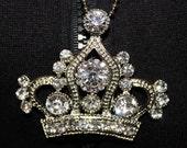 KAOTIC Crown necklace with swarovski crystals