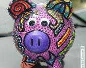 Pink Pig- piggy bank