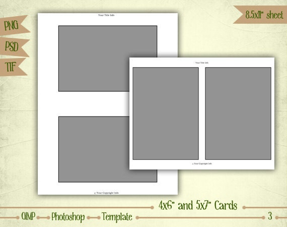 cards 4x6 and 5x7 digital collage sheet. Black Bedroom Furniture Sets. Home Design Ideas
