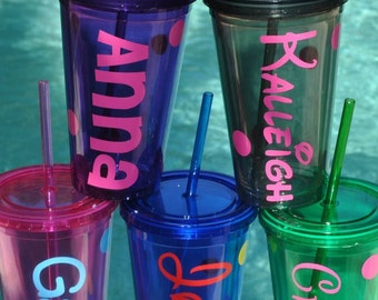 Personalized Acrylic Tumblers BPA free