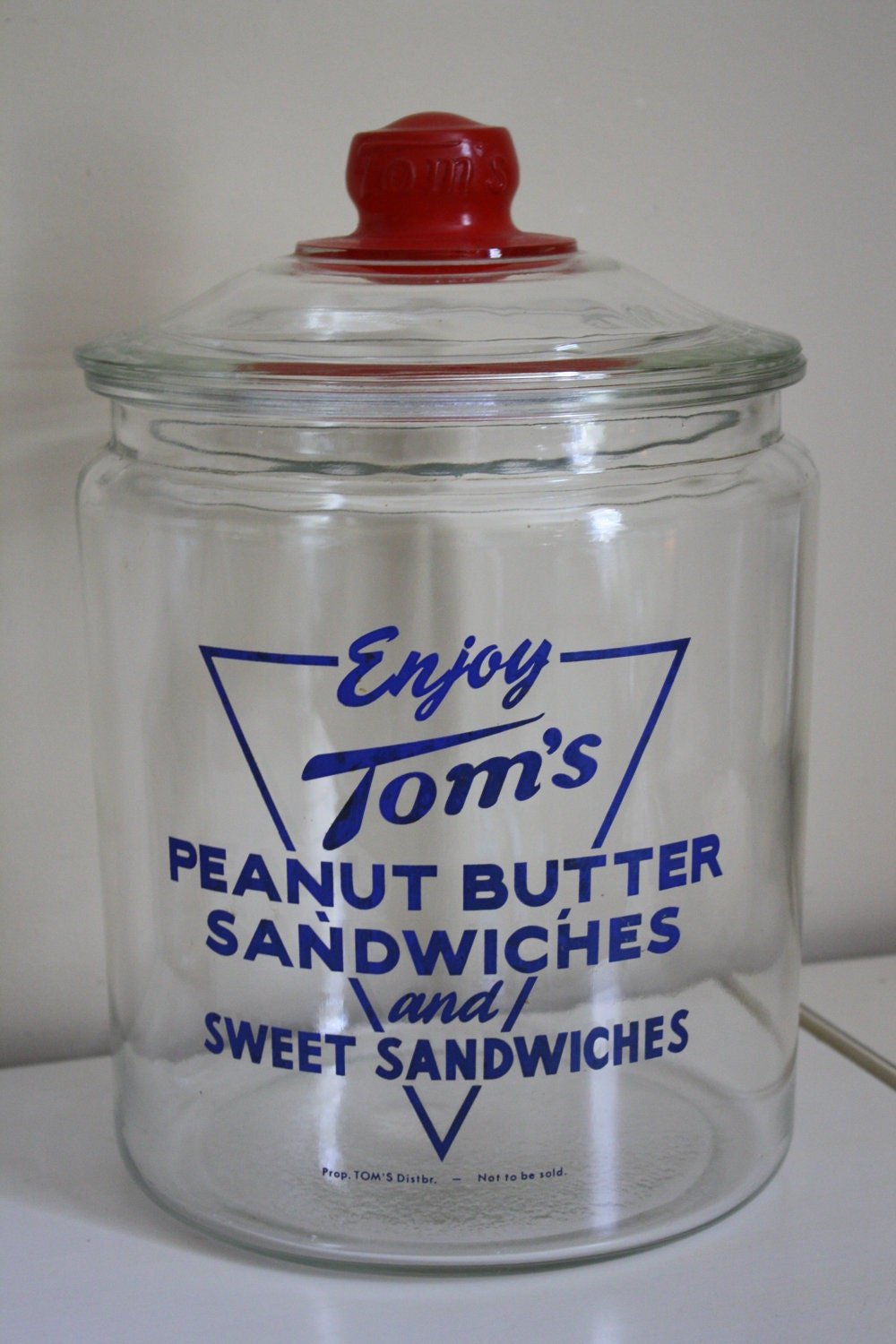 Very Rare 1950 S Vintage Tom S Peanut Butter By