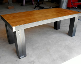 Industrial Metal Coffee Table No.001