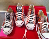 Customized OSU Handpainted Converse Shoes